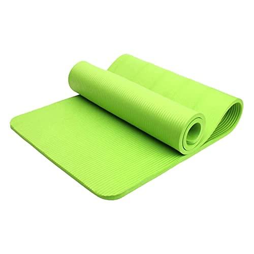 LSLS Esterilla De Yoga Mats de yoga súper gruesa de 20 mm Matetas de yoga de alta densidad antideslizante adecuadas para todas las alfombrillas de yoga con correas Pilates y colchonetas Esterilla Fitn