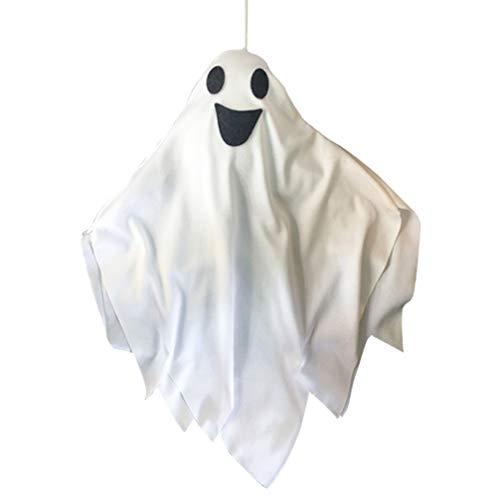 TOYANDONA Halloween iluminará Fantasma Colgando Halloween Interior decoración al Aire Libre