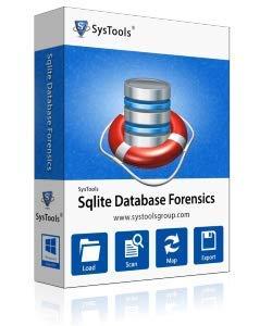 SysTools Récupération SQLite (Livraison par courrier électronique - pas de CD)