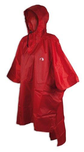 Tatonka Regencape Poncho 1, red, 16 x 11 cm