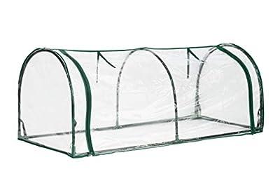 Topline Outdoor Mini Garden Greenhouse with Zipper Openings - 51 Inch