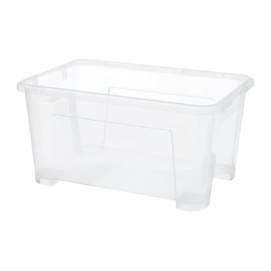 マーベルトピック特徴づけるIKEA(イケア) SAMLA 透明 28x19x14 cm/5 l 60180885 ボックス、透明