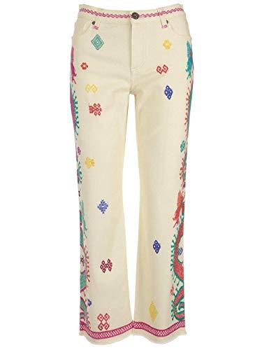 Etro Luxury Fashion Damen 144519457990 Weiss Baumwolle Jeans | Ss21