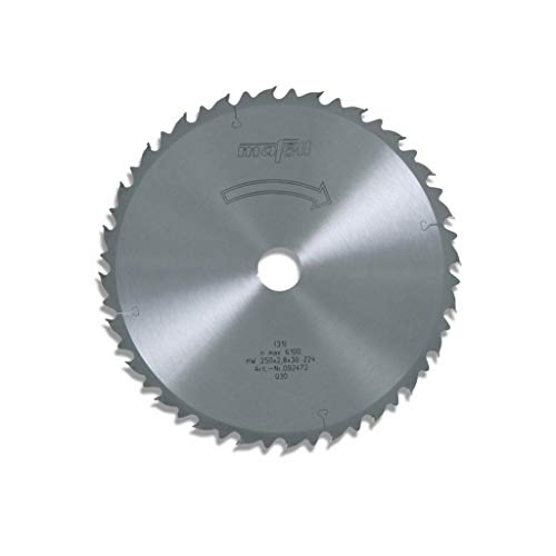 MAFELL 92472 HM-cirkelzaagblad, Z24 WZ, 250 mm x 2,8 mm x 30 mm