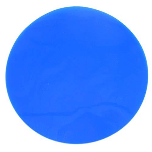 #N/V Almohadilla antideslizante para abrebotellas de silicona resistente al agua, abrelatas sólidas, almohadilla de vajilla de silicona, abridor de frascos redondos