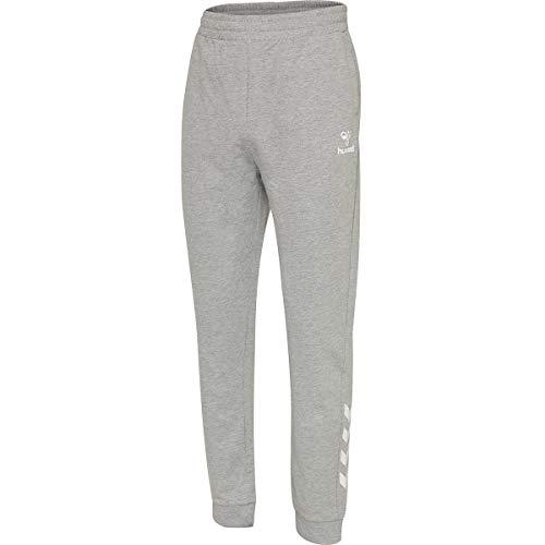 hummel HMLMATEO Pants, Hombre, Gris Melange, XL