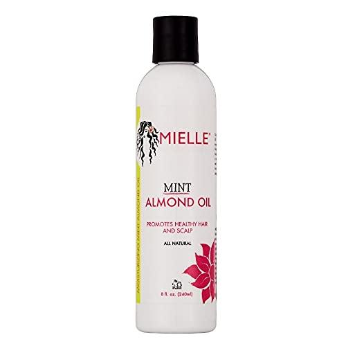 Mielle Organics Mint Almond Oil for Healthy Hair and Scalp, All Natural, 8 Ounces