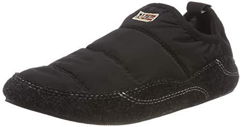 Napapijri Footwear Herren MORRAN Niedrige Hausschuhe, Schwarz (Black N00), 41 EU