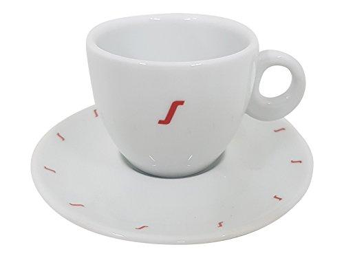 Segafredo Espresso Tasse S mit Unterteller