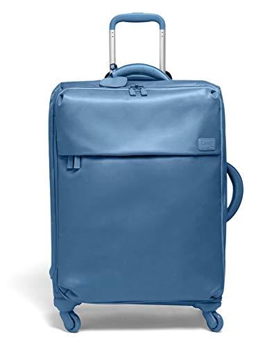 Lipault - Original Plume Spinner 65/24 Luggage - Medium Suitcase Rolling Bag for Women - Steel Blue