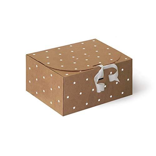 Caja de Cartón Estrellas CTF1905 pack de 10 uds.