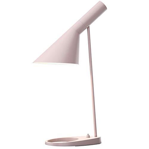 AJ Table Lamp, Louis Poulsen, Lámpara de Sobremesa Diseñada por Arne Jacobsen (Rosa Pálido)
