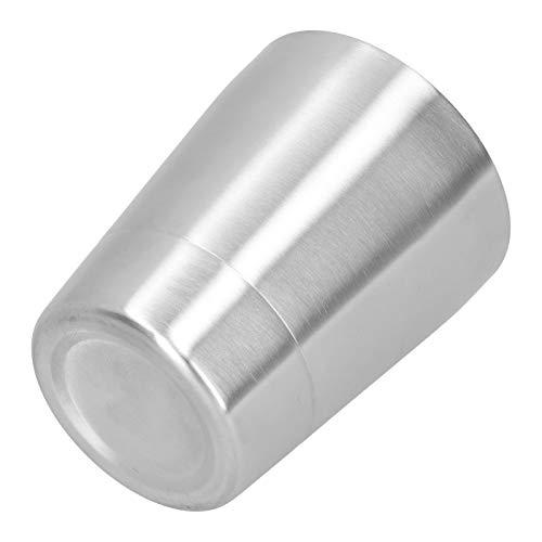 Zwinner Taza de Cerveza, Taza de Agua de 260 ml, Anti escaldado para Oficina, Camping, Cocina casera