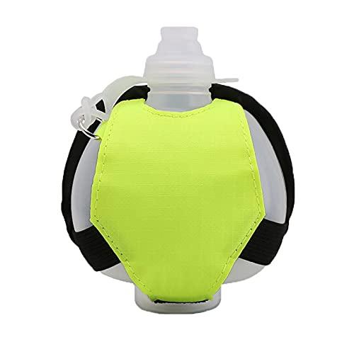 WYGOAKG 200 ml Running muñeca botella de agua hervidor titular muñeca almacenamiento bolsa hidratación paquete suave frasco para maratón equitación fitness