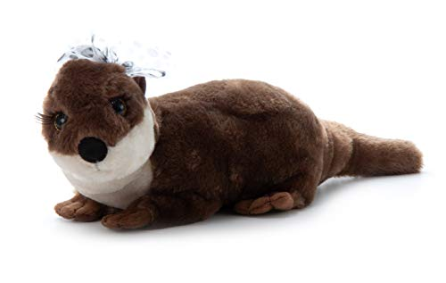 The Petting Zoo, Lash'z River Otter Stuffed Animal, Gifts for Girls, Plush Toy 13 inches