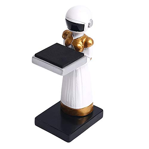 Generic Bracelet Resin Watch Stand Spaceman Bracket Organizer - Woman Spaceman