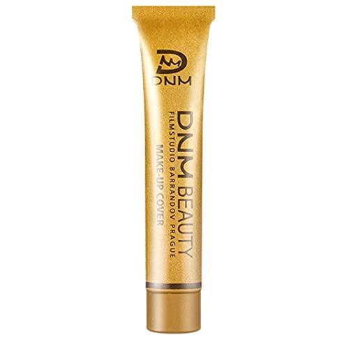 Crème de correcteur imperméable, maquillage imperméable de couverture complète, correspondance de couleur 14 couleurs Couverture liquide cachette durable durable