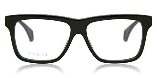 Gucci Brille für Vista GG0464O 006 schwarz rahmenmaterial: kunststoff größe 56 mm brille mann