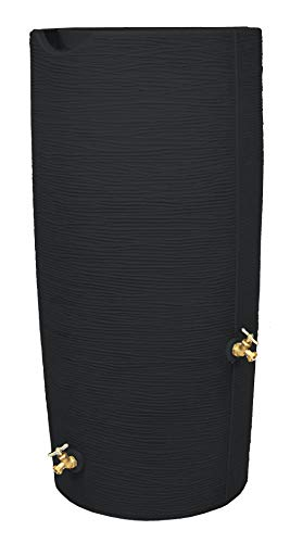 Good Ideas IM-STO050-BLK Rain Barrel, Black