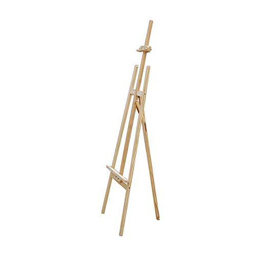 Caballete multifuncional, 150 cm, caballete de arte profesional, plegable, para artistas, para interiores y exteriores