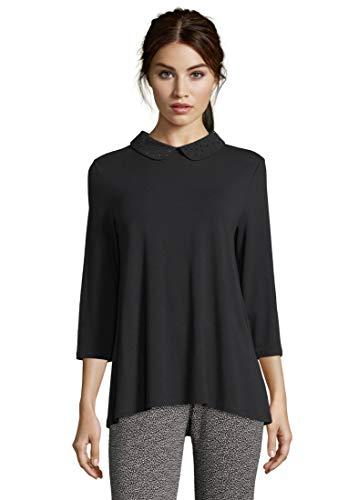 Betty Barclay Damen 4731/0621 T-Shirt, Schwarz (Black 9045), (Herstellergröße: 36)