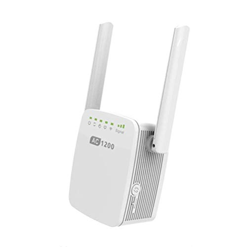 DHRH Extensor de Rango WiFi de Doble Banda Ac1200 - Amplificador de...