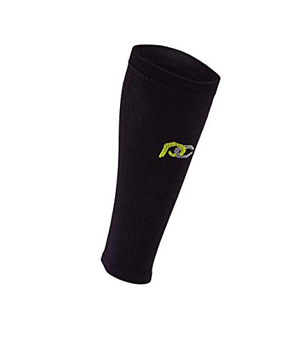 PRO Compression Calf Compression Sleeve for Calf Pain Relief   Calf Guard for Running, Cycling, Nurses, and Sports (Black, Small/Medium)