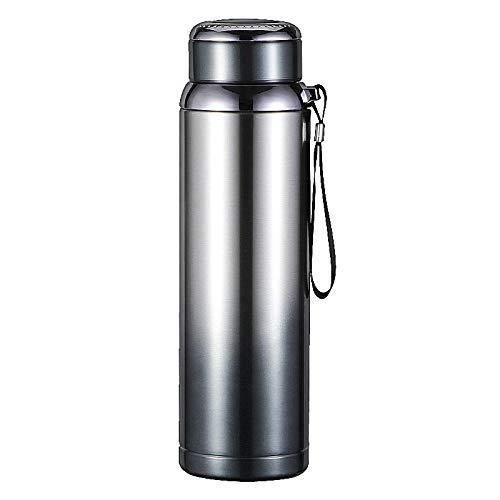 B/H Libre BPA,Botella de Agua Deportiva,Botella de Deportes al Aire Libre de Regalo de Frasco de vacío de Acero Inoxidable 304-Gradient_500ml