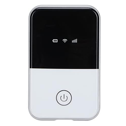 Punto de Acceso WiFi móvil 4G LTE, Mini enrutador de Viaje Desbloqueado portátil inalámbrico 3G / 4G, con Ranura para Tarjeta SIM, Soporte de Banda de Red B2 / B4 / B5 / B12 / B17(MF-935D-L)