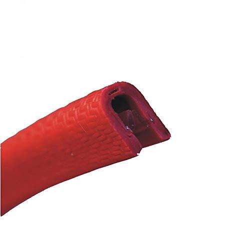 eutras Protector de bordes ks1058Rojo Rango de sujeción 1–2mm MM PVC refuerzo...