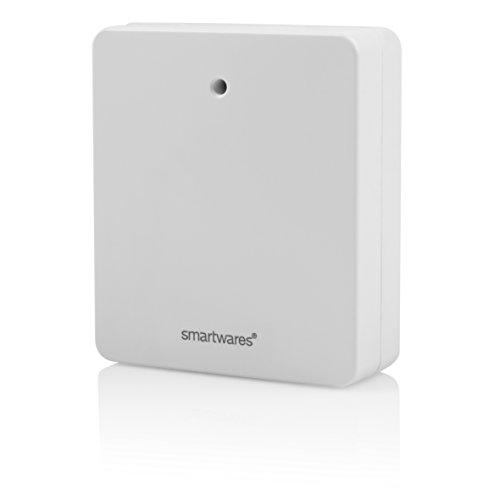 Smartwares SH5-RPS-04A SmartHome Funk-Steckdose, extra flach für Eurostecker 460 Watt