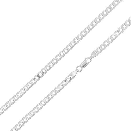 Cordão Corrente Masculino 3mm x 80cm Grumet De Prata 925 Maciça