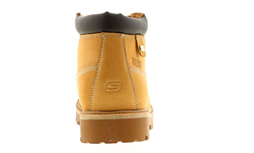 Skechers Sergeants - Verdict, Chaussures de sport Homme, Marron (Cdb), 44 EU