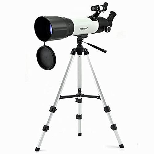 Zhouzl Outdoor Sports Accessories CF 90500 (500 / 90mm) telescopios astronómicos espaciales al Aire Libre con trípode Outdoor Sports...