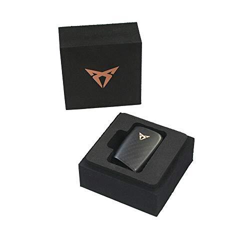 Carbon negro Cupra L/ámina adhesiva para emblema SE09