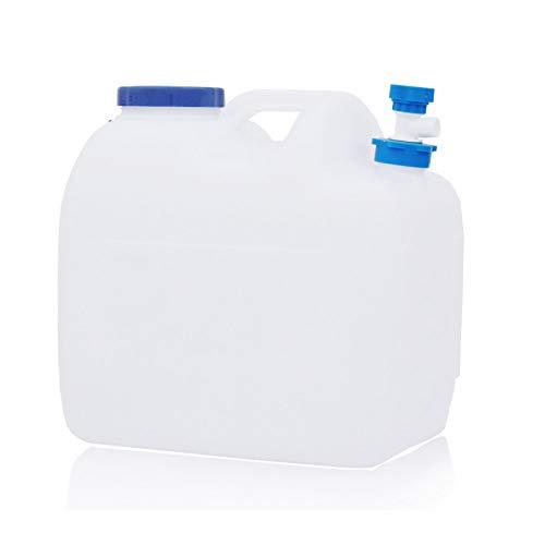 LJT® Wateremmer Container Tap Desktop Dispenser Kunststof Koelkast Drank Tank Vloeibare Drink Refillable Shelf Tap Geweldig voor Office Camping