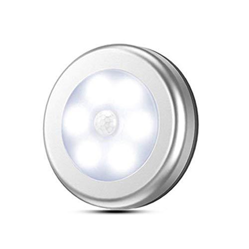 XHSHLID Sensor 6 LED nachtlicht detector draadloze wandlamp lamp in- en uitschakelen auto accu oplaadbaar