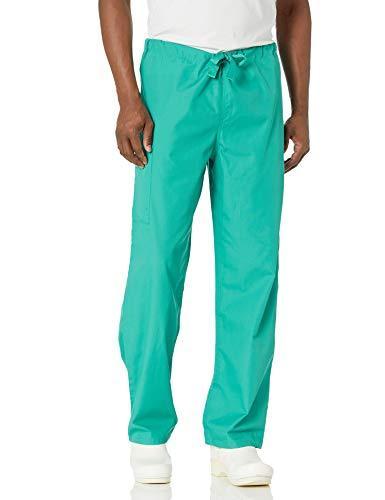 Cherokee Originals Unisex Drawstring Cargo Scrubs Pant, Surgical Green, Medium