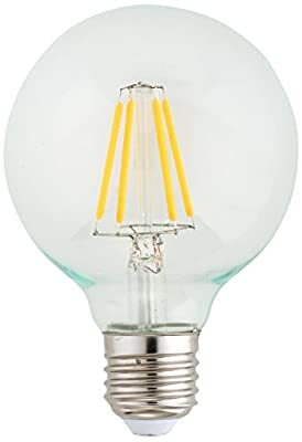 Kodak UL Globe Dimmable LED Multi-Filament Light Bulb E26 Base