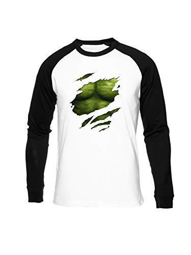 Fioze Verde Seis Paquete Camiseta Bisbol Unisex Cuello Redondo Baseball Unisex T-Shirt