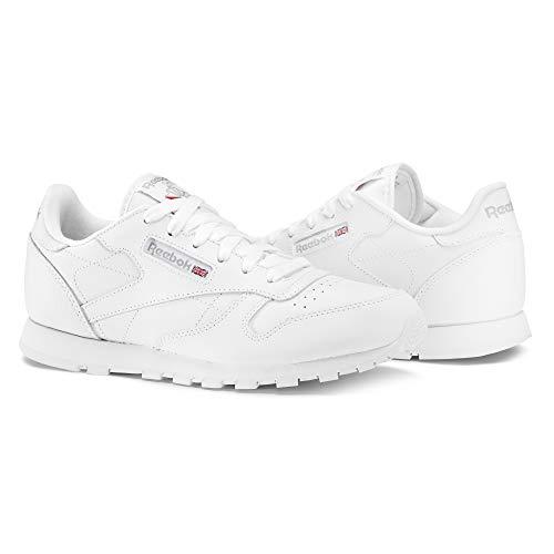 Reebok Reebok Unisex Kinder Classic Leather Gs Low Top, Weiß White, 40 EU