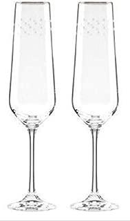 Lenox Kate Spade New York Sadie Street Crystal Champagne Flutes Set of 2 New in Box
