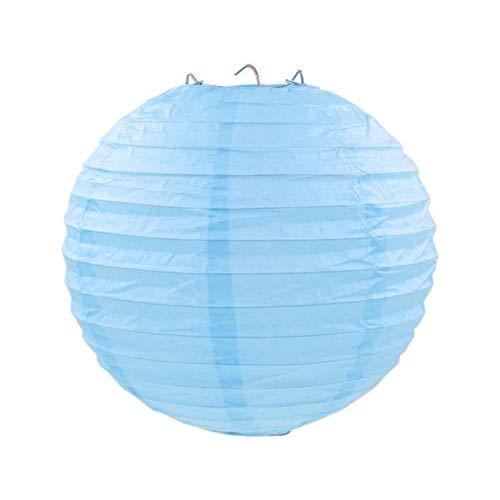 SUNYUAN 10 cm 15 cm 20 cm 25 cm 30 cm 35 cm 40 cm chino Año Nuevo Decoraciones Blanco Papel Linterna Boda Dormitorio Lámpara de Papel 2 Unids