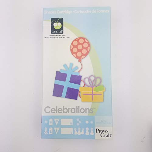 Provo Craft Cricut Celebrations Cartridge