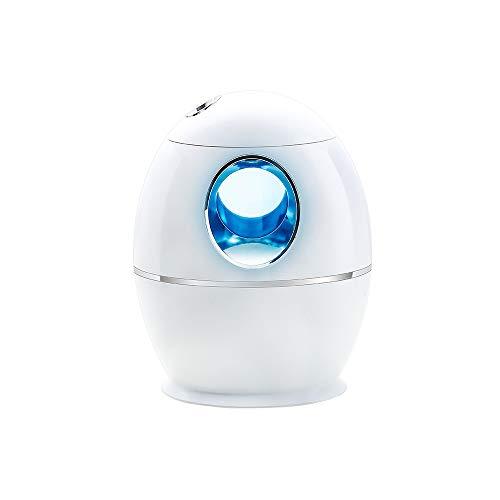 KEISL - Humidificador de 800 ml de Gran Capacidad, Niebla, Recargable, ultrasónico, función de Temporizador 16 h, Limpiador de Aire silencioso, para habitación de bebé, Oficina, Invierno, seco