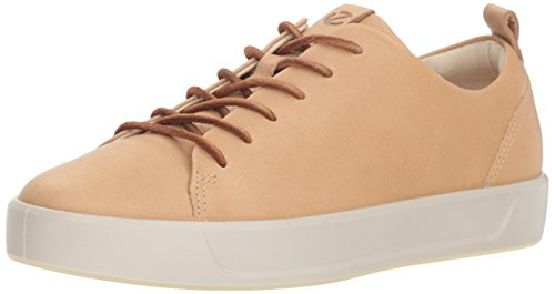 Ecco Damen SOFT 8 LADIES Sneaker, Beige (Powder 1211), 38 EU