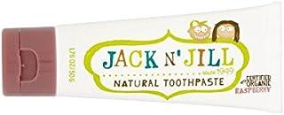 有機香味50グラム天然ラズベリー歯磨き粉 (Jack N Jill) (x 6) - Jack N' Jill Raspberry Toothpaste Natural with Organic Flavouring 50g (Pack of 6) [並行輸入品]
