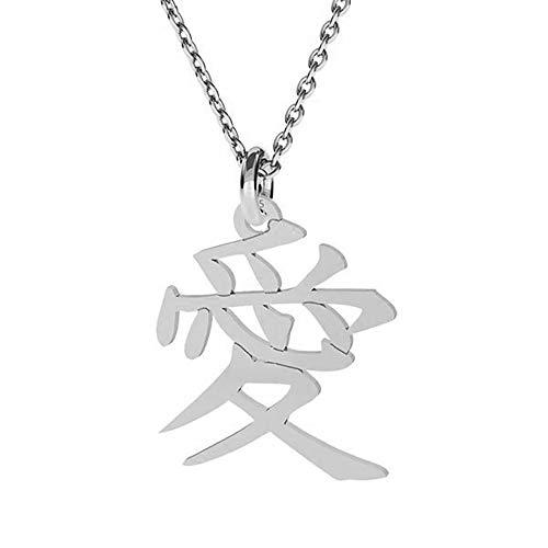 **Beforya Paris** **NEU** *Japan Symbol Der Liebe* Silber 925 *Halskette* Schön Damen Halskette - Anhänger Halskette Schmuck Mutter Geschenk PIN/75