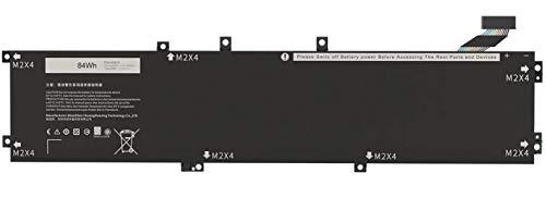 AKKEE 4GVGH Laptop Batería para DELL XPS 15 9550 Precision 5510 Series 1P6KD 01P6KD 11.4V 84Wh 6-Cell
