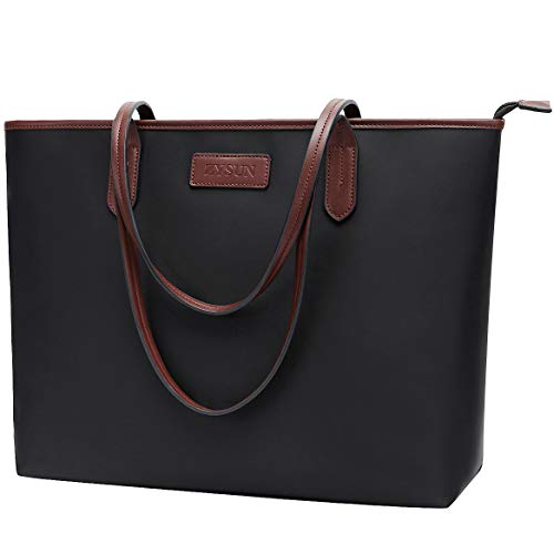 Laptop Bag for Women 15.6-17 inch Lightweight Business Nylon Work Tote Bag Personalized Briefcase with Comfortable Shoulder Strap for Office to Daily Life